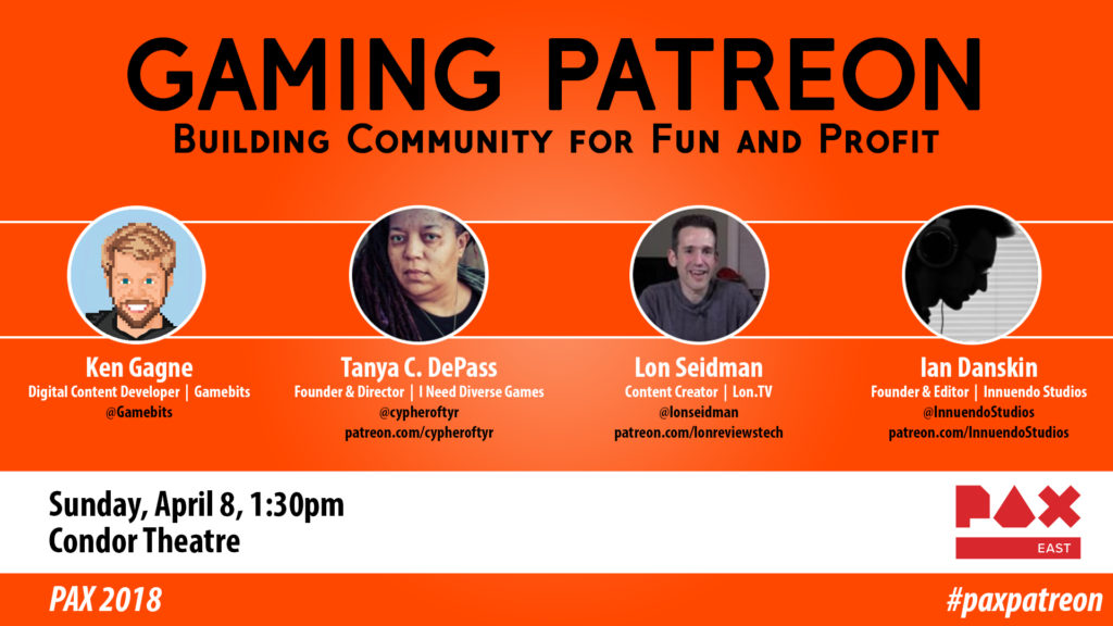 Gaming Patreon banner
